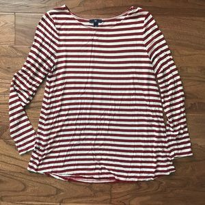Gap striped swing tee
